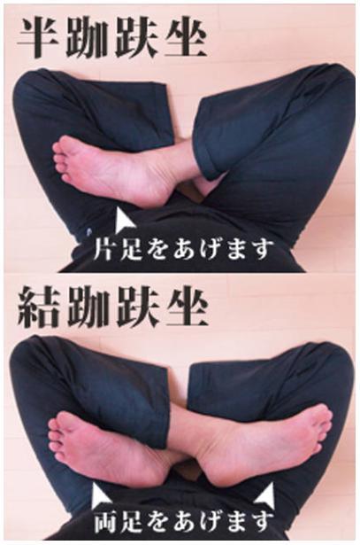 瞑想と座禅 座り方